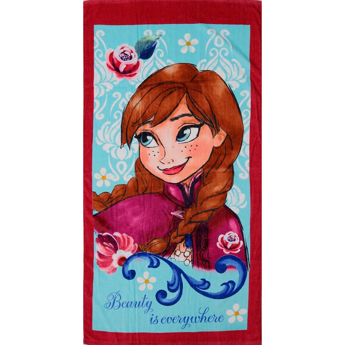 Παιδική Πετσέτα Θαλάσσης Dim Collection Frozen 02-6
