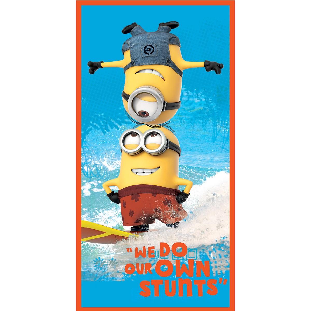 Παιδική Πετσέτα Θαλάσσης Dim Collection Minions 01-3 home   θαλάσσης   πετσέτες θαλάσσης παιδικές