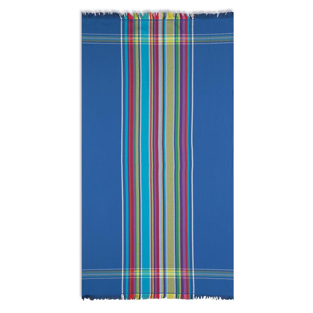 Πετσέτα Θαλάσσης - Παρεό Nef-Nef Linea Blue