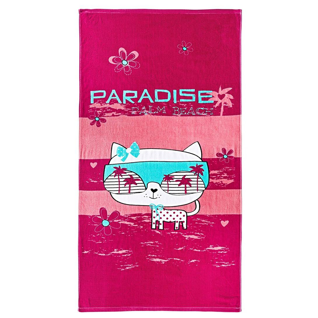 Παδική Πετσέτα Θαλάσσης Nima Plits Plats Pink Paradise