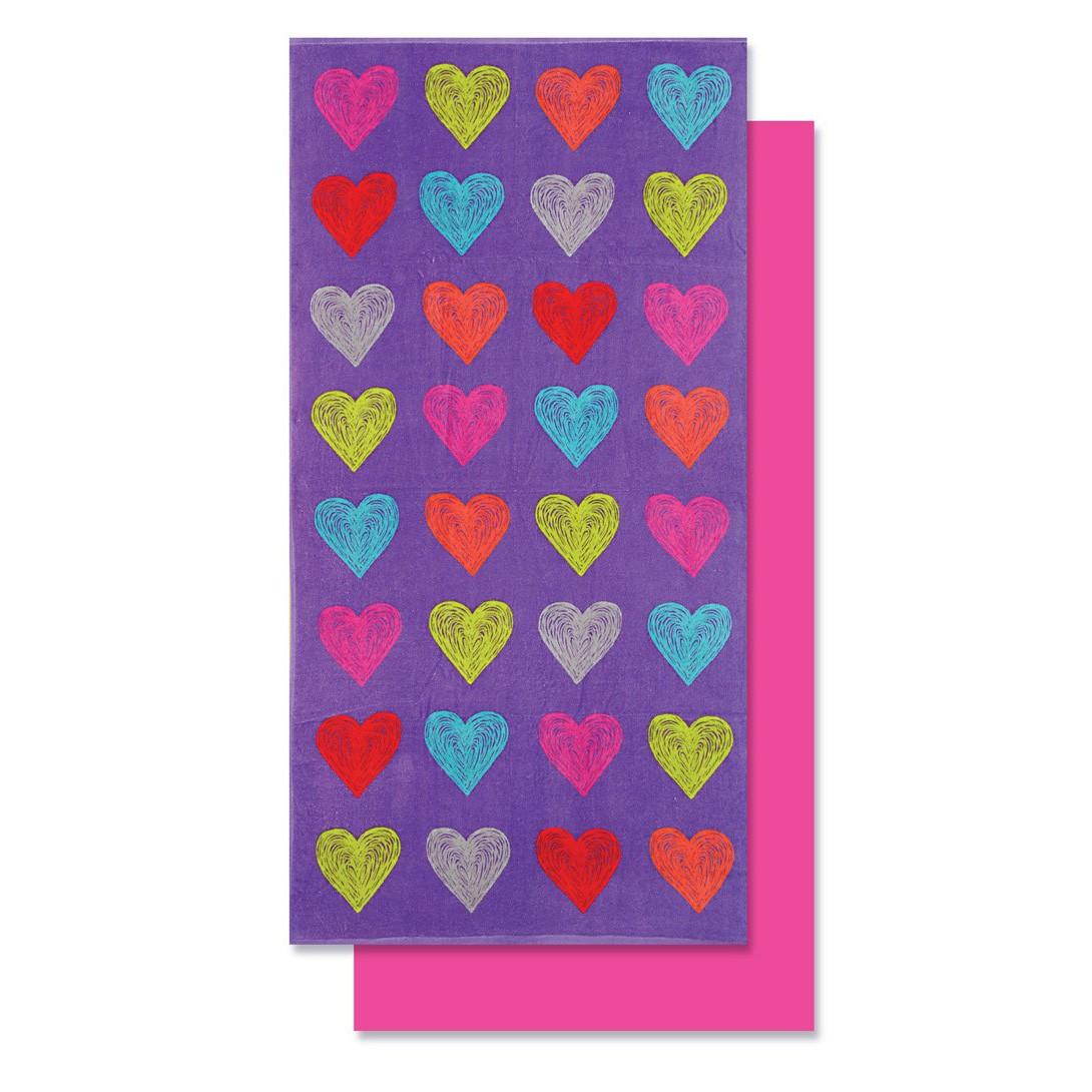 Πετσέτα Θαλάσσης Nef-Nef Heartbeat