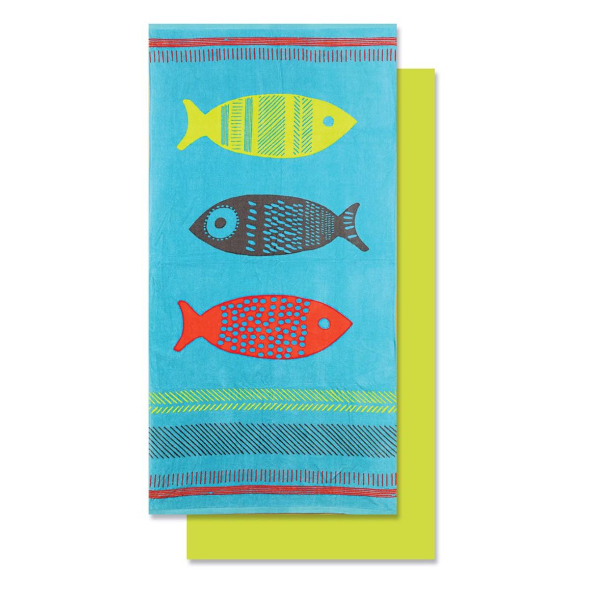 Πετσέτα Θαλάσσης Nef-Nef Fishes
