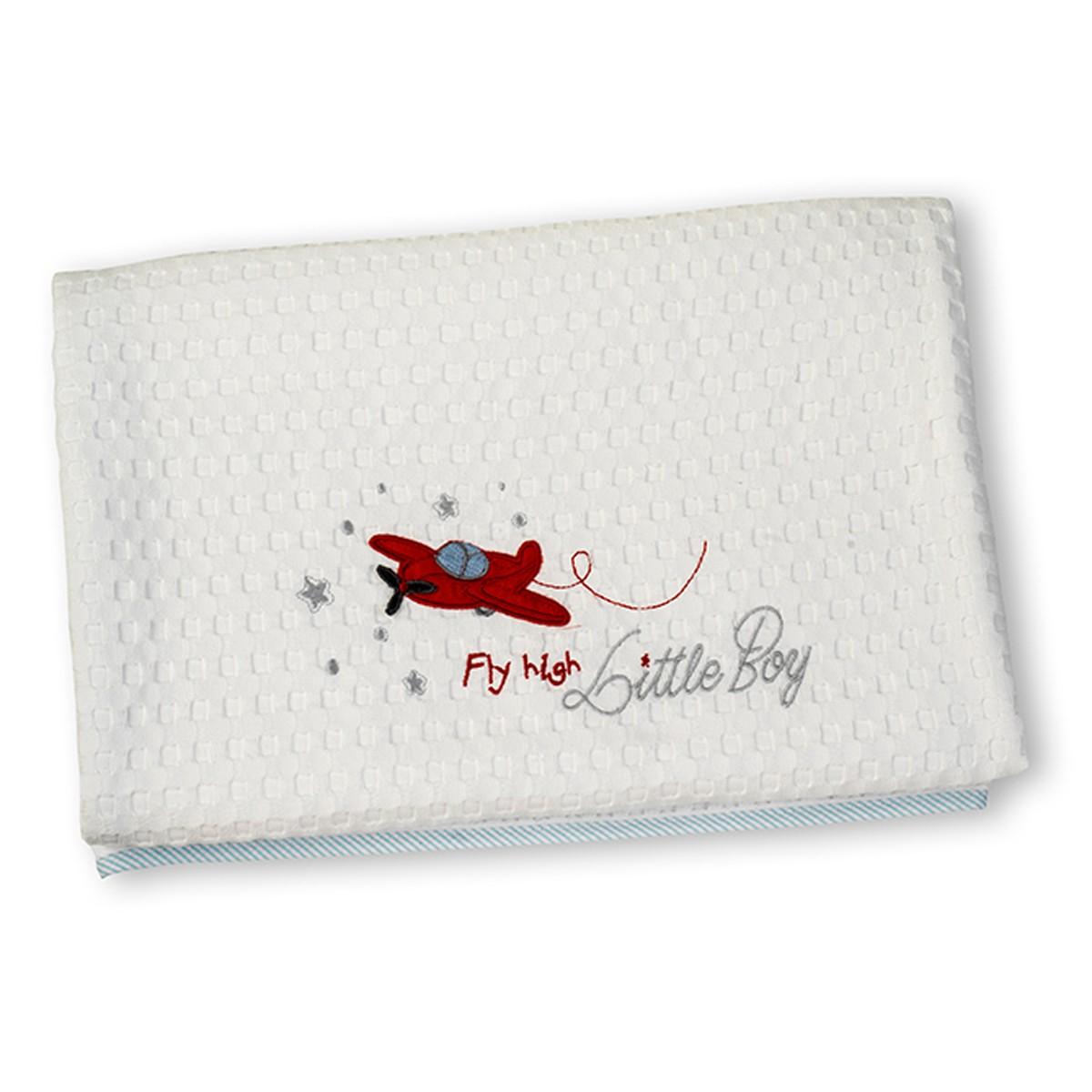 Κουβέρτα Πικέ Κούνιας Nima Fly High