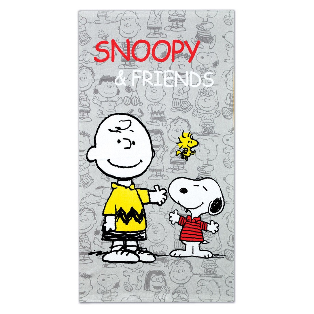 Παιδική Πετσέτα Θαλάσσης Nef-Nef Snoopy Friends home   θαλάσσης   πετσέτες θαλάσσης παιδικές