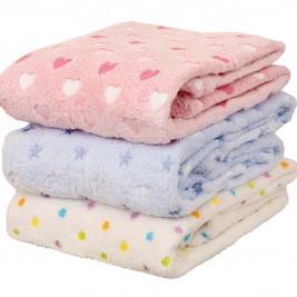 Κουβέρτα Fleece Κούνιας Viopros
