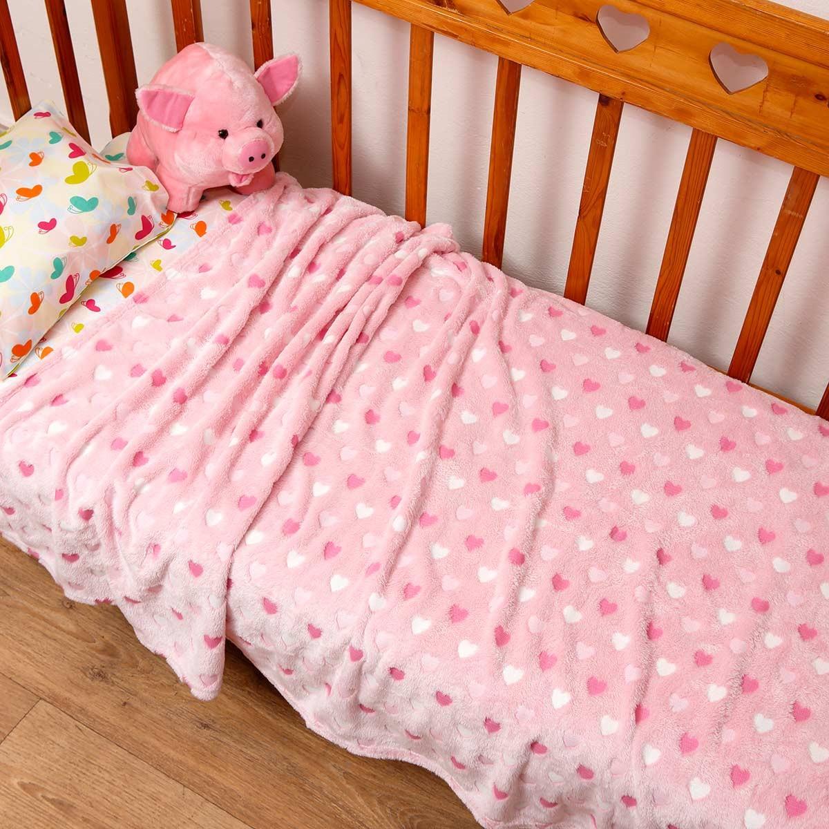 Κουβέρτα Fleece Μονή Viopros 53094