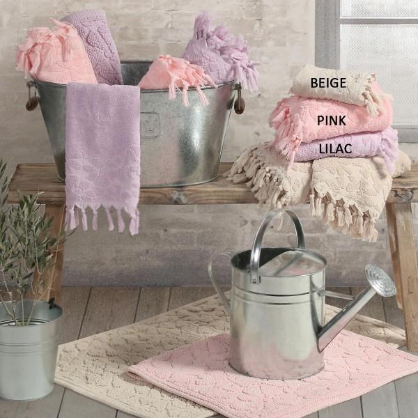 Πετσέτες Μπάνιου (Σετ 3τμχ) Nef-Nef Bath Adalyn