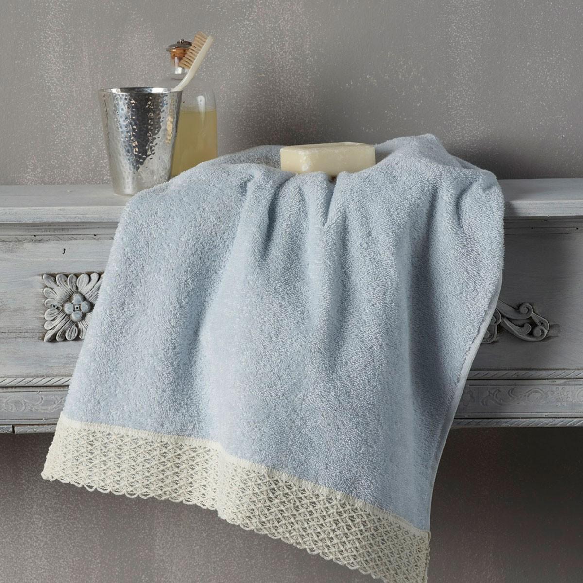 Πετσέτες Προσώπου (Σετ 2τμχ) Kentia Bath Nicole home   μπάνιο   πετσέτες μπάνιου