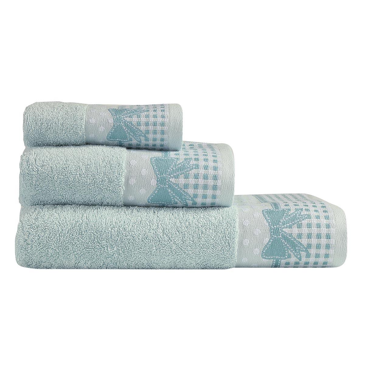 Πετσέτες Μπάνιου (Σετ 3τμχ) Nef-Nef Bath Laurenn