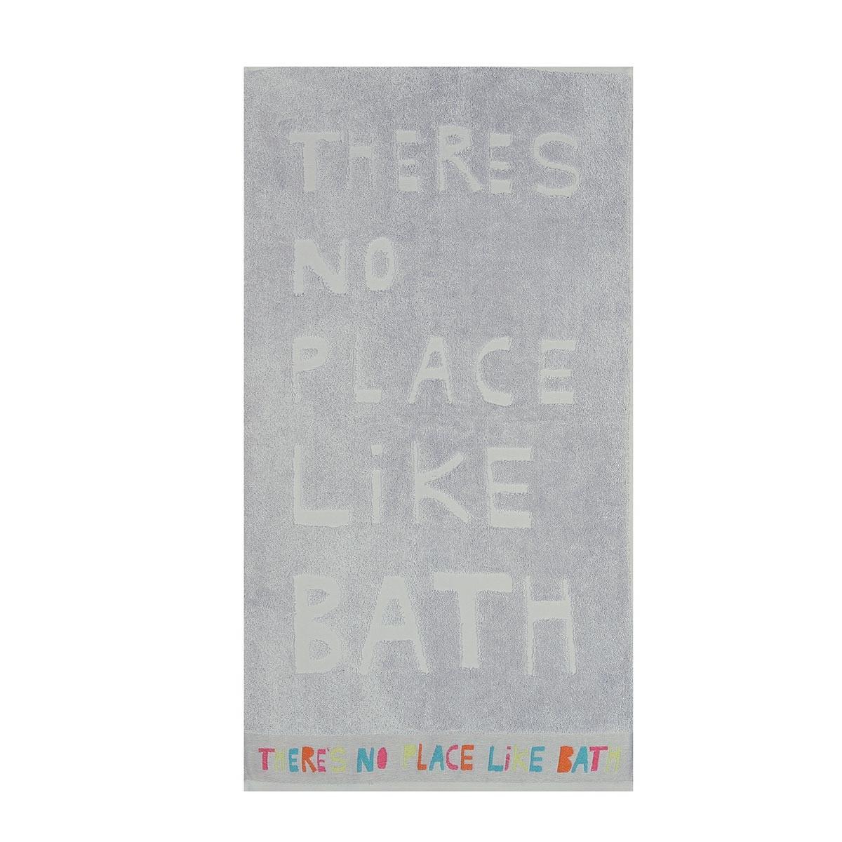 Πετσέτα Προσώπου (50x90) Nef-Nef Bath No Place Like Bath