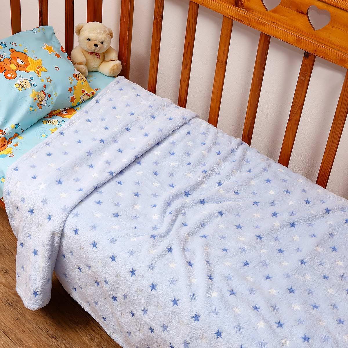 Κουβέρτα Fleece Μονή Viopros