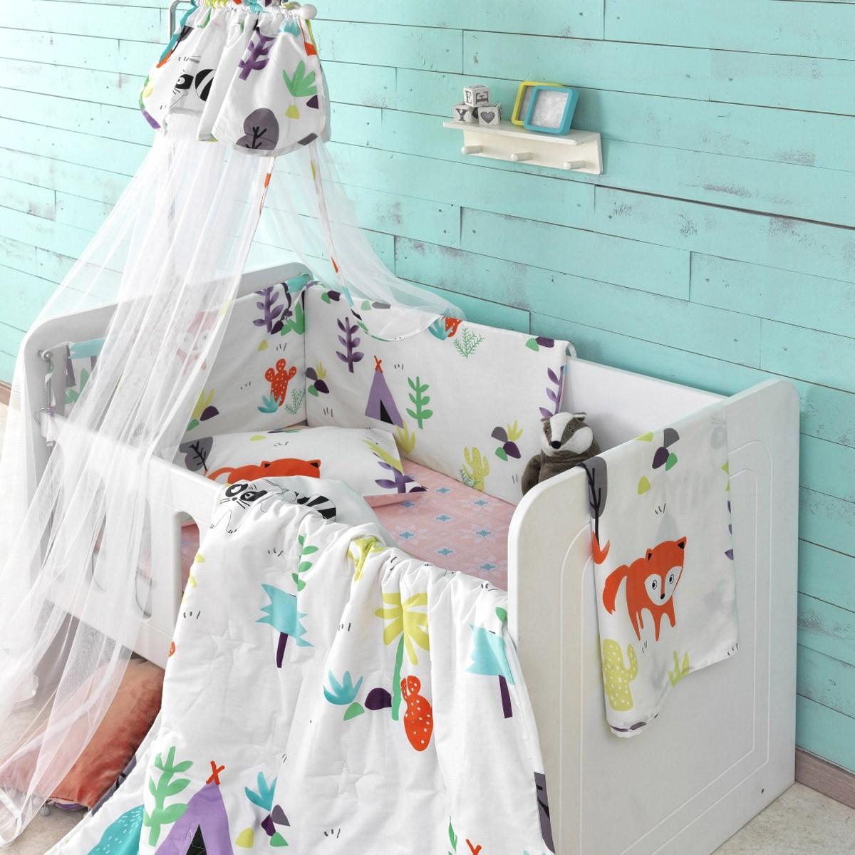 Σετ Κούνιας 6τμχ Palamaiki Baby Satin BS7011 home   βρεφικά   σετ κούνιας