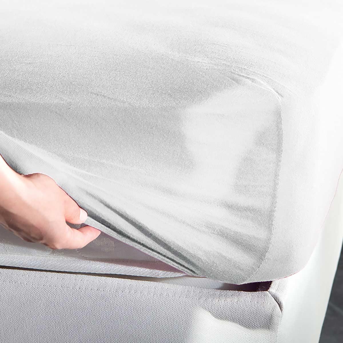 Σεντόνι Μακό Υπέρδιπλο Με Λάστιχο La Luna Jersey home   κρεβατοκάμαρα   σεντόνια   σεντόνια μεμονωμένα