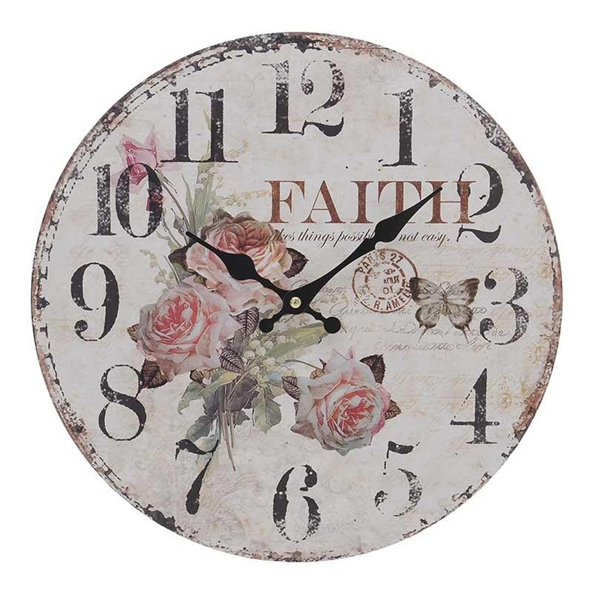 Ρολόι Τοίχου InArt 3-20-484-0392