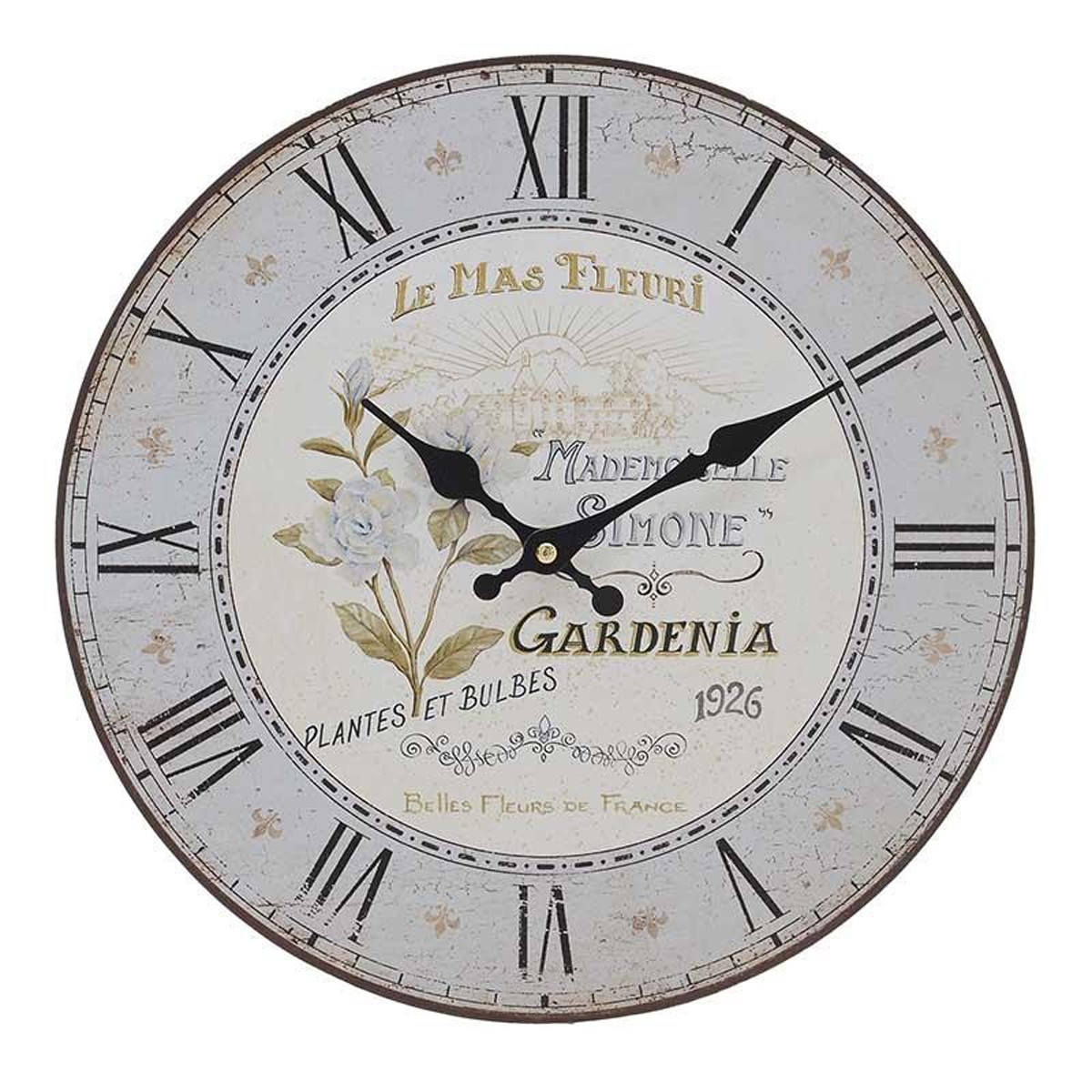 Ρολόι Τοίχου InArt 3-20-484-0400 home   διακόσμηση   ρολόγια
