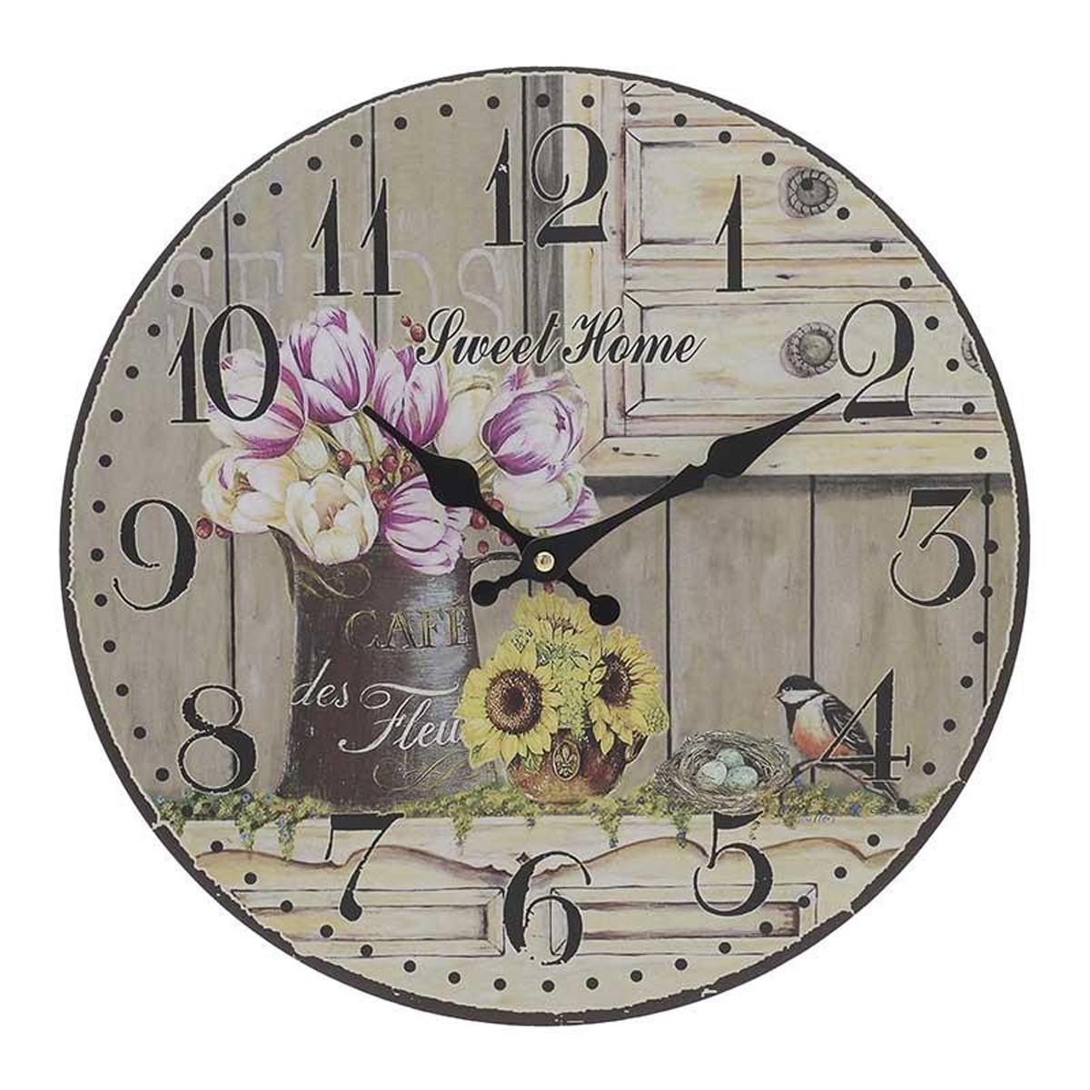 Ρολόι Τοίχου InArt 3-20-484-0404