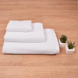 Πετσέτα Προσώπου Λευκή (50x100) Inter 500gr/m2