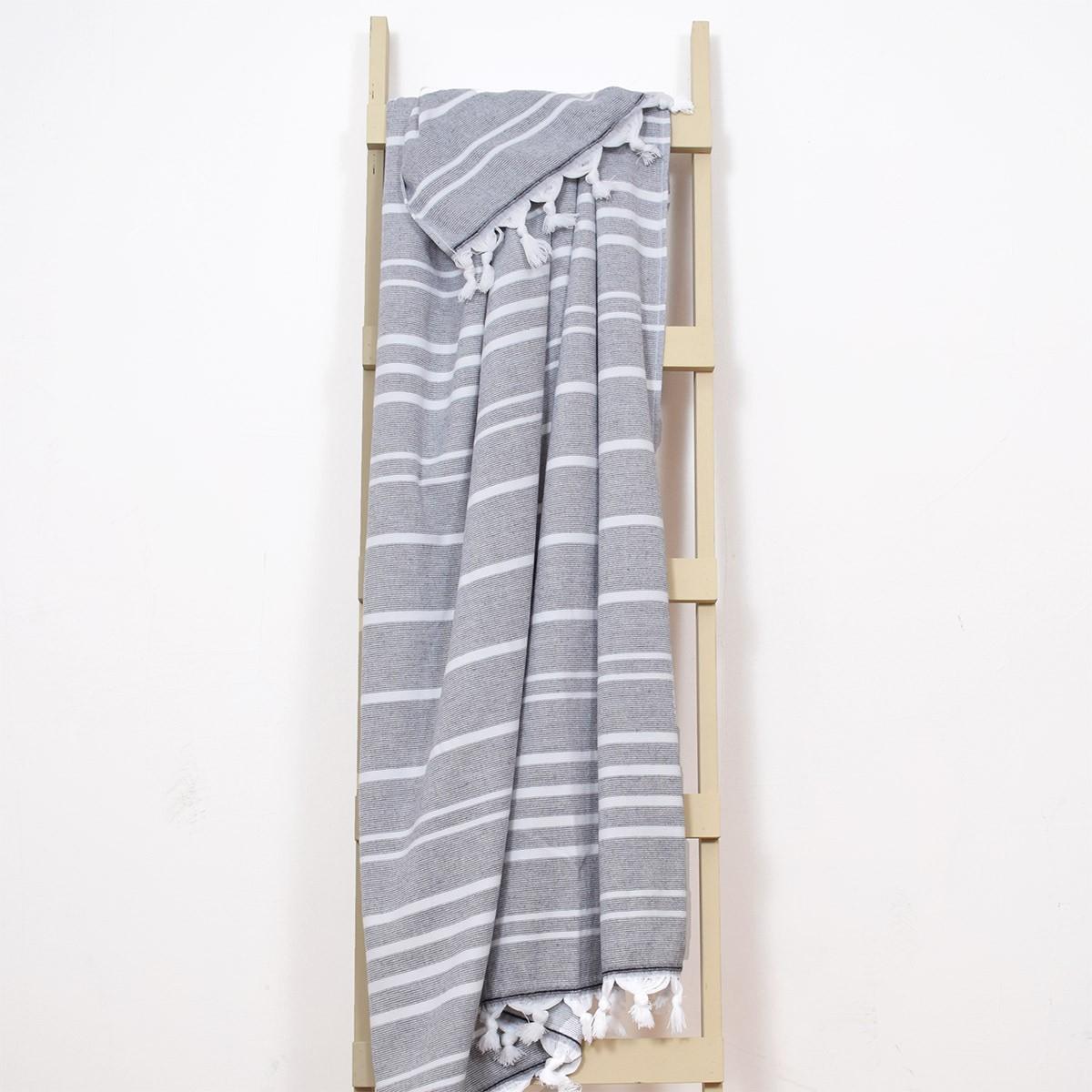 Πετσέτα Θαλάσσης-Παρεό Rythmos Skiathos