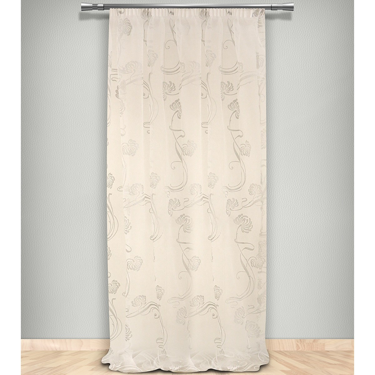 Κουρτίνα (145×300) Με Τρέσα Maison Blanche 702278401