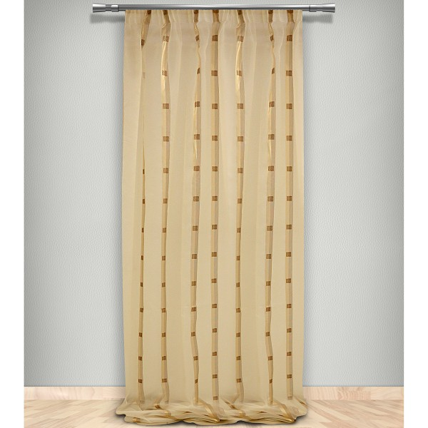 Κουρτίνα (145x300) Με Τρέσα Maison Blanche 70261182802