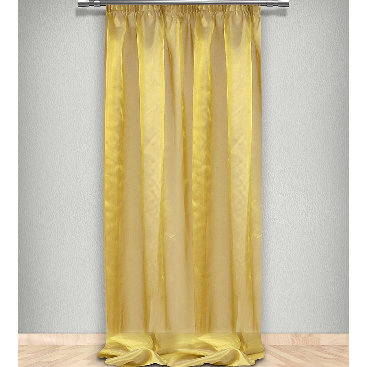Κουρτίνα (145×320) Με Τρέσα Maison Blanche 7026211205