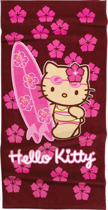 Παιδική Πετσέτα Θαλάσσης Hello Kitty HK21