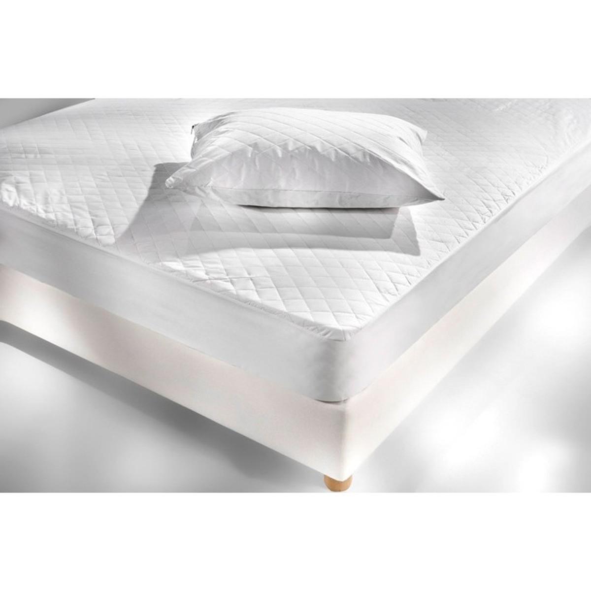 Κάλυμμα Στρώματος Καπιτονέ (160×200) Hotel 100%Βαμβάκι Με Φάσα