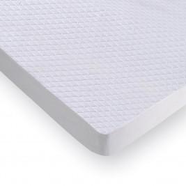 Κάλυμμα Στρώματος Καπιτονέ (110x200) 100%Microfiber Με Φάσα