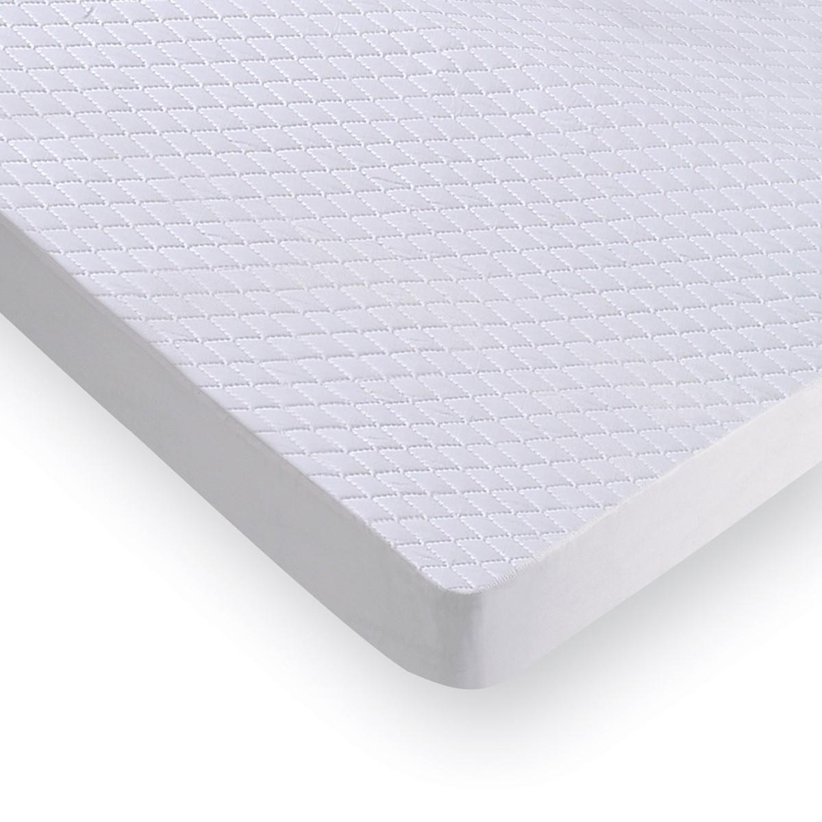 Κάλυμμα Στρώματος Καπιτονέ (120x200) 100%Microfiber Με Φάσα