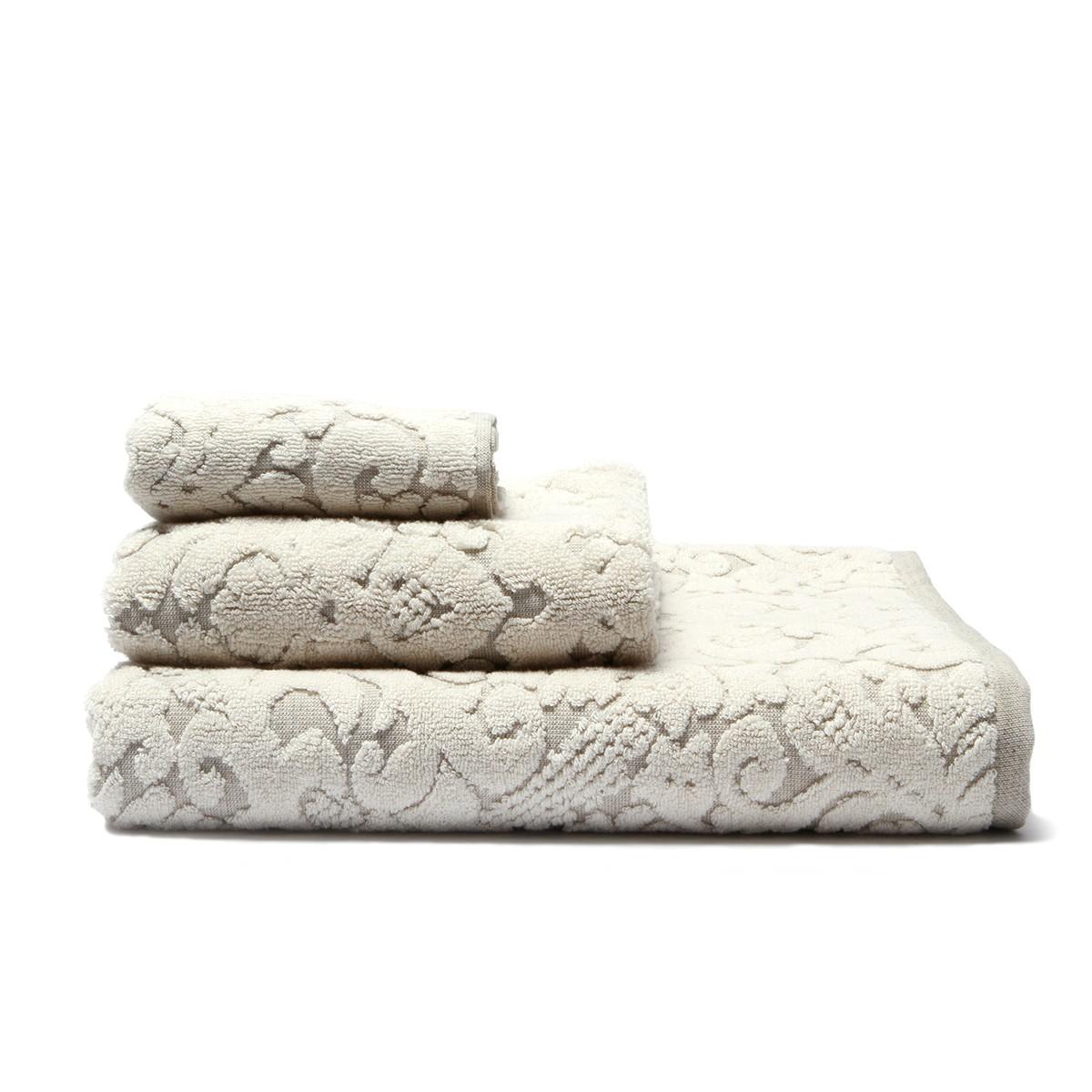 Πετσέτα Προσώπου (50x90) Laura Ashley Linen Natural