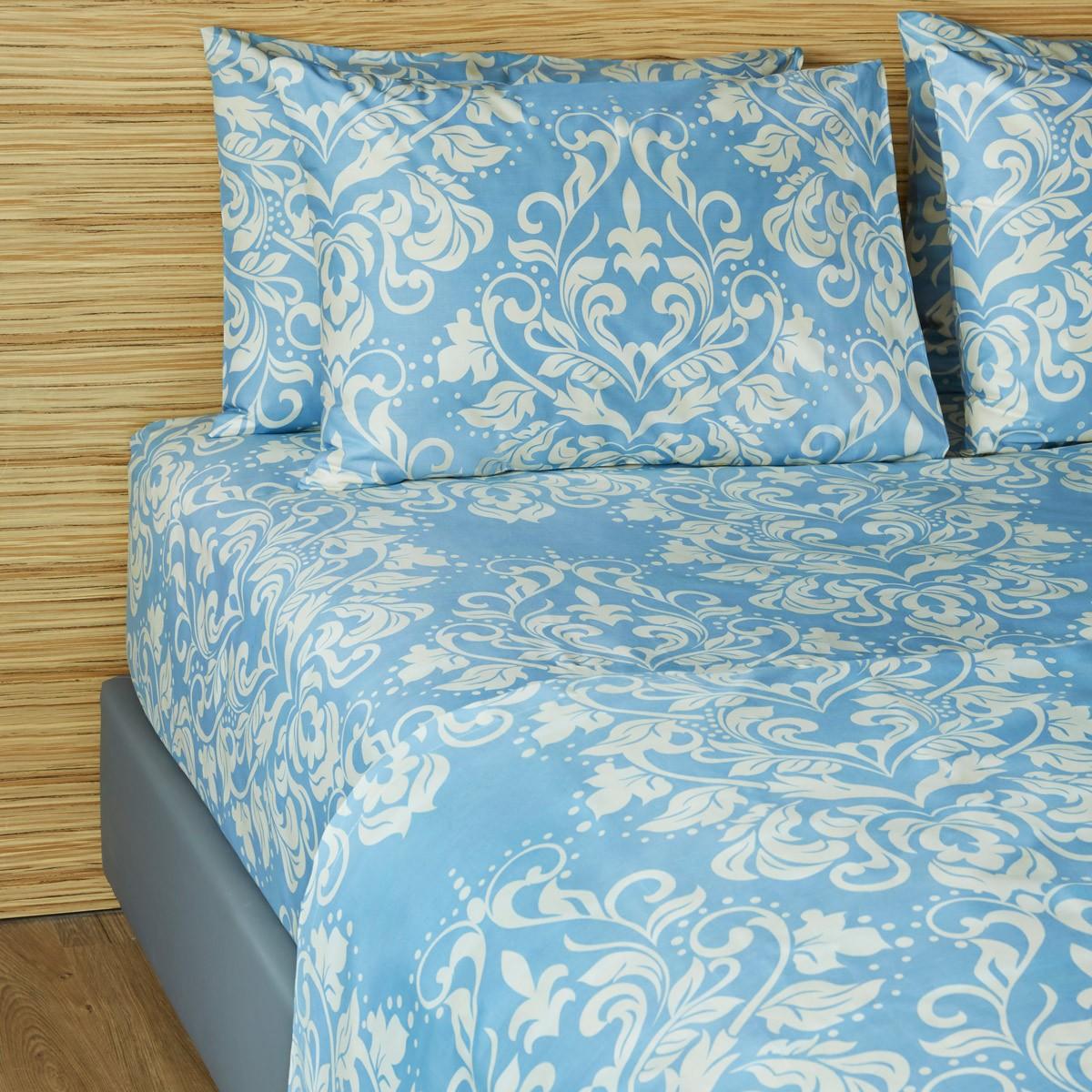 Σεντόνια Μονά (Σετ) Melinen 12866 Blue