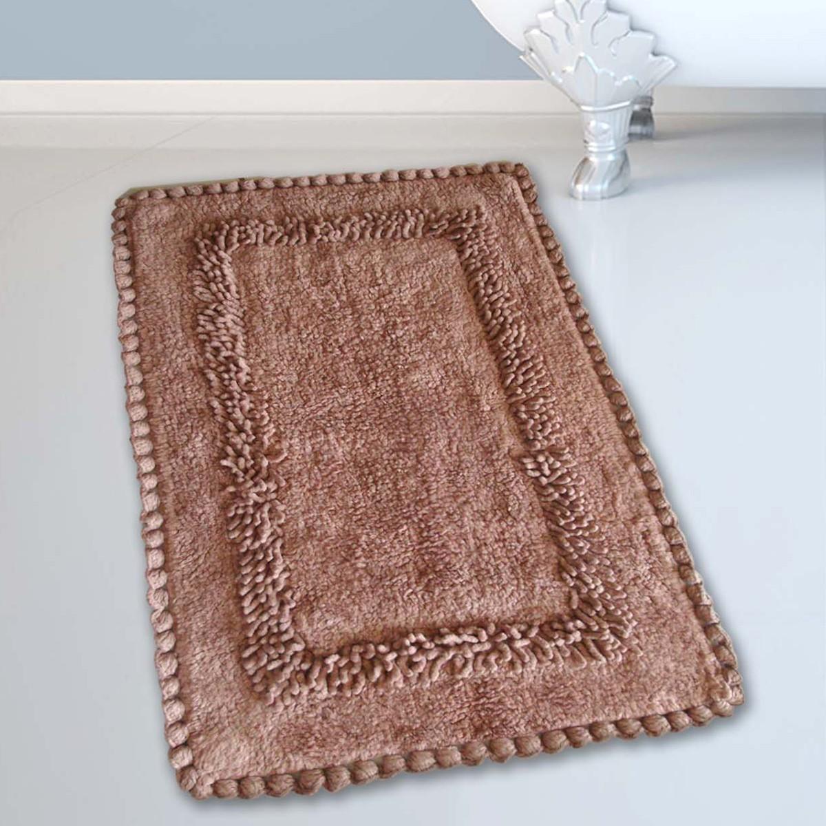 Πατάκι Μπάνιου (50×80) San Lorentzo 923 Crochet Camel