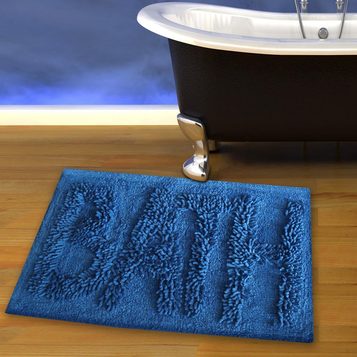 Πατάκι Μπάνιου (50x80) San Lorentzo 623 Bath Blue home   μπάνιο   πατάκια μπάνιου