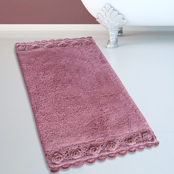 Πατάκι Μπάνιου (50x80) San Lorentzo 925 Double Lace Dusty Rose