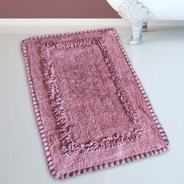 Πατάκι Μπάνιου (50x80) San Lorentzo 923 Crochet Dusty Rose