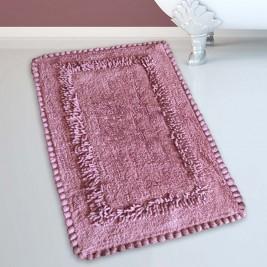 Πατάκι Μπάνιου (50x80) San Lorentzo 923 Crochet Dusty Rose
