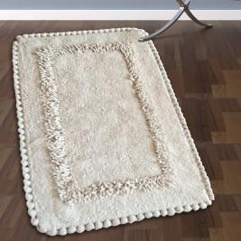 Πατάκι Μπάνιου (50x80) San Lorentzo 923 Crochet Ecru
