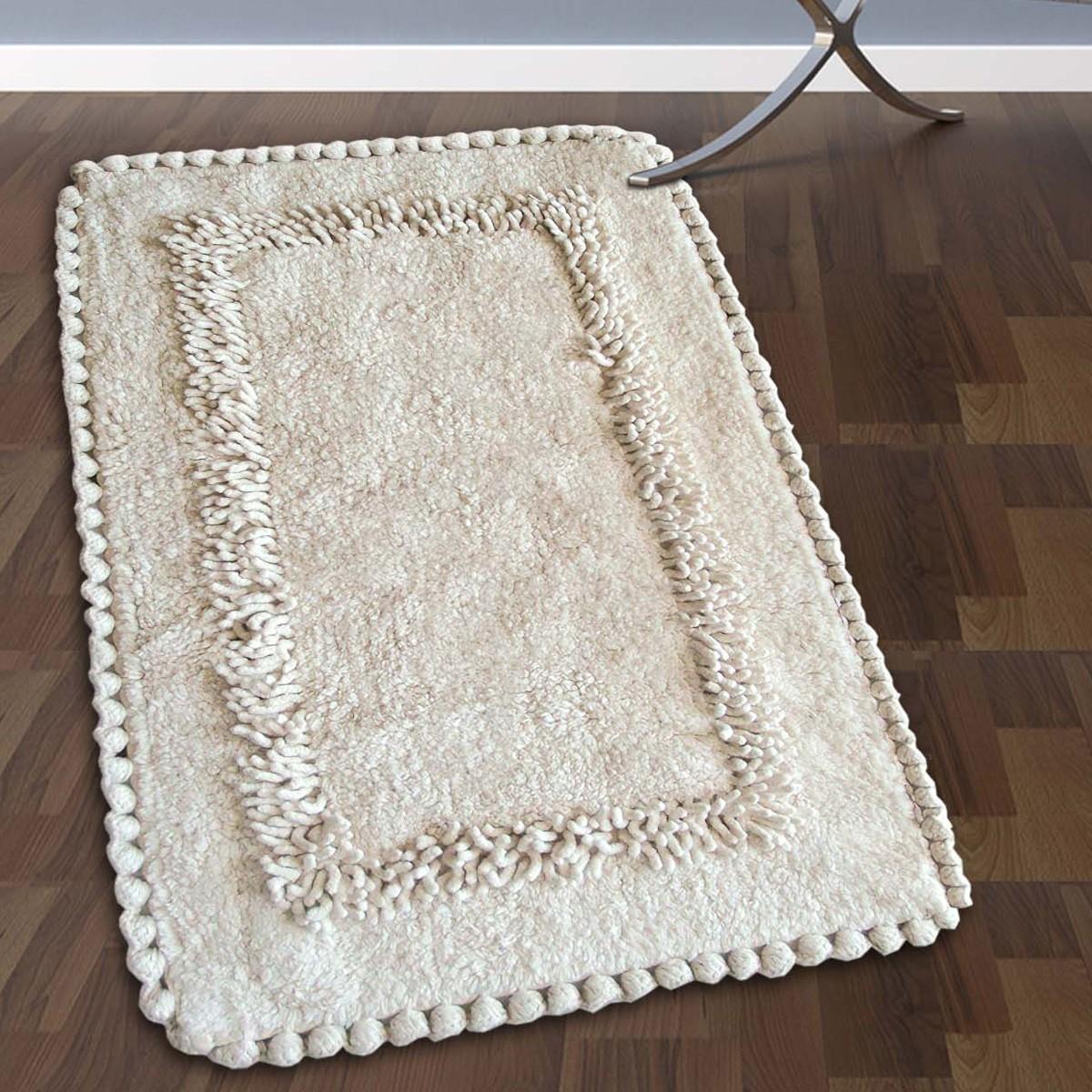 Πατάκι Μπάνιου (50×80) San Lorentzo 923 Crochet Ecru