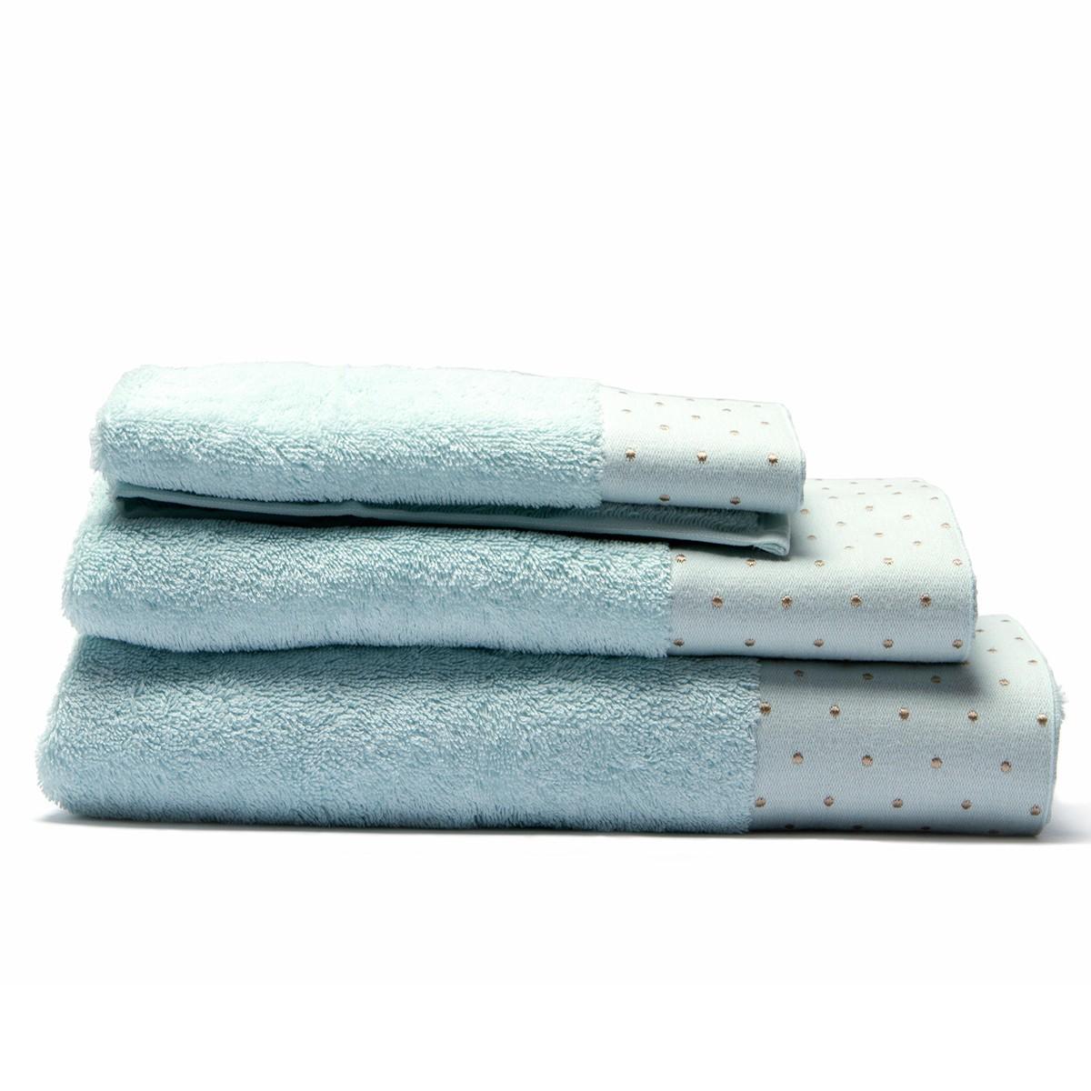 Πετσέτα Σώματος (80x150) Laura Ashley Polka Border D.Egg home   μπάνιο   πετσέτες μπάνιου
