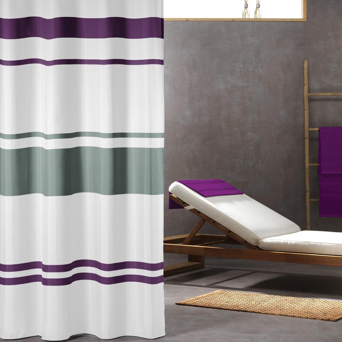 Κουρτίνα Μπάνιου (180×200) SealSkin Urban Purple