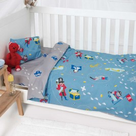 Σεντόνια Κούνιας (Σετ) Kentia Baby Hook