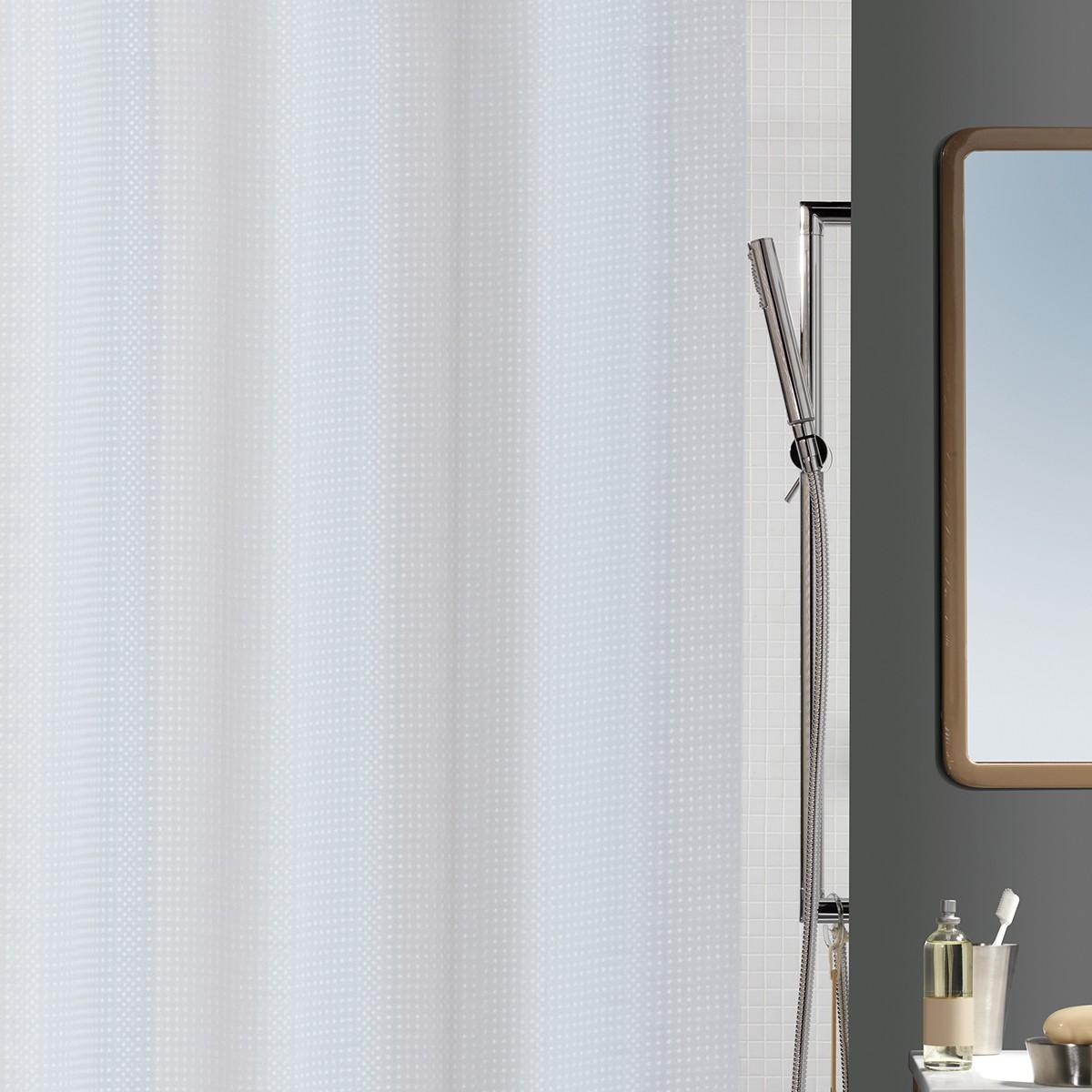 Κουρτίνα Μπάνιου (180x200) Spirella Nid D' Abeille