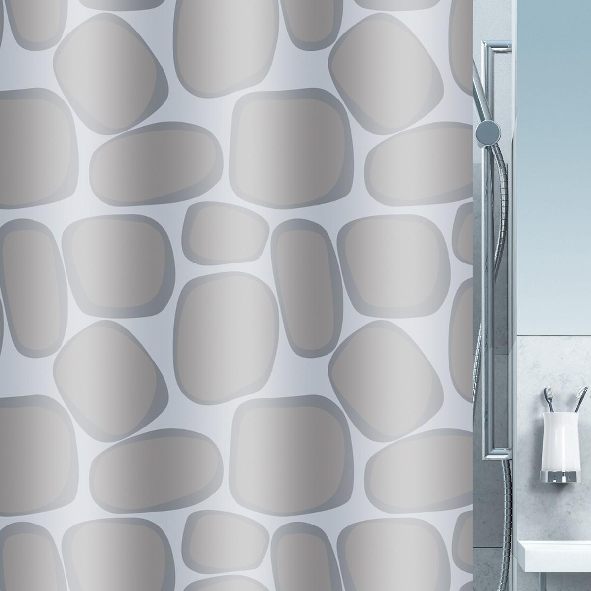 Κουρτίνα Μπάνιου (180x200) Spirella Silver