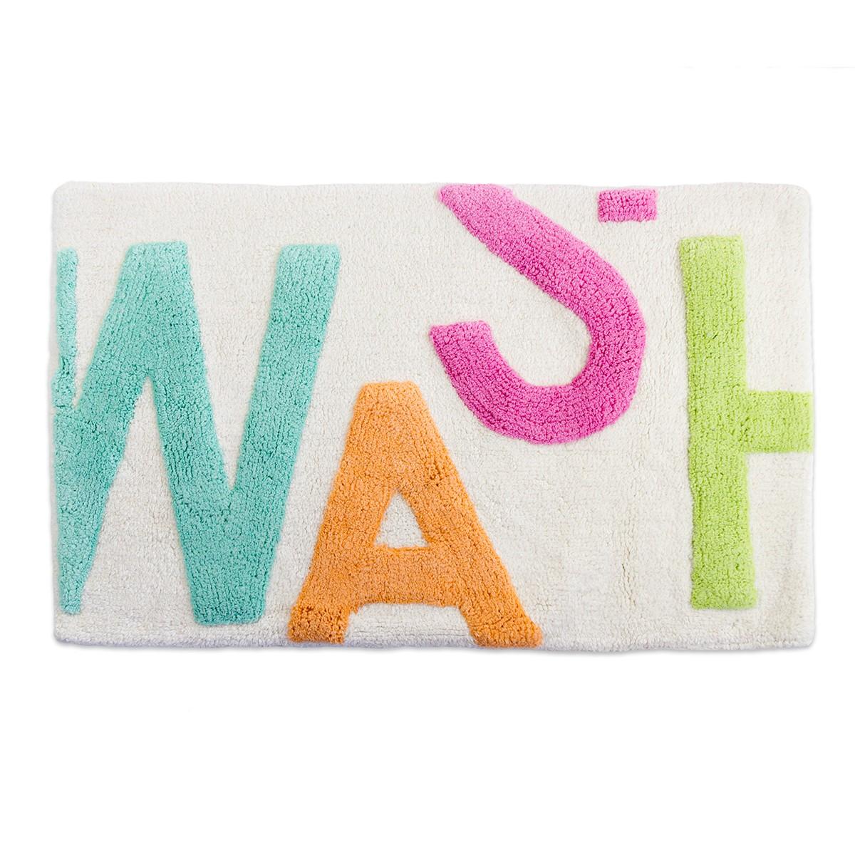 Πατάκι Μπάνιου (50x80) LifeStyle Word Wash