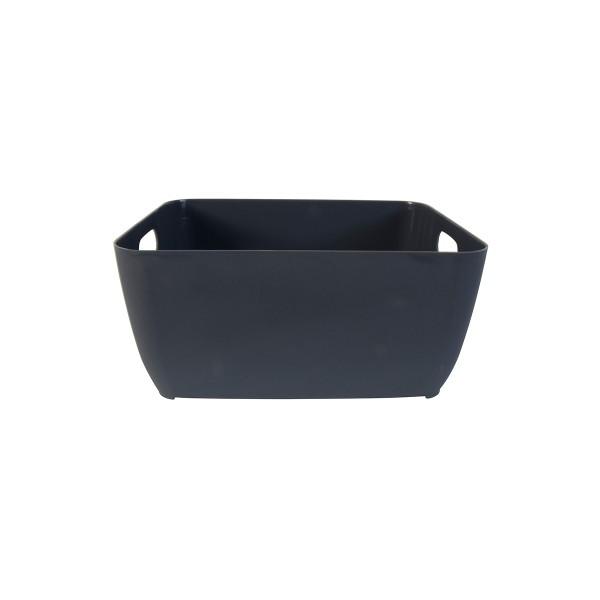Κουτί Αποθήκευσης (19.8x15x9) LifeStyle Store Box 05041.001 Dark