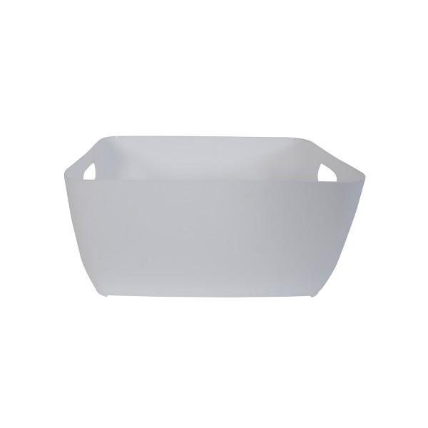 Κουτί Αποθήκευσης (28x21x13) LifeStyle Store Box 05042.003 White