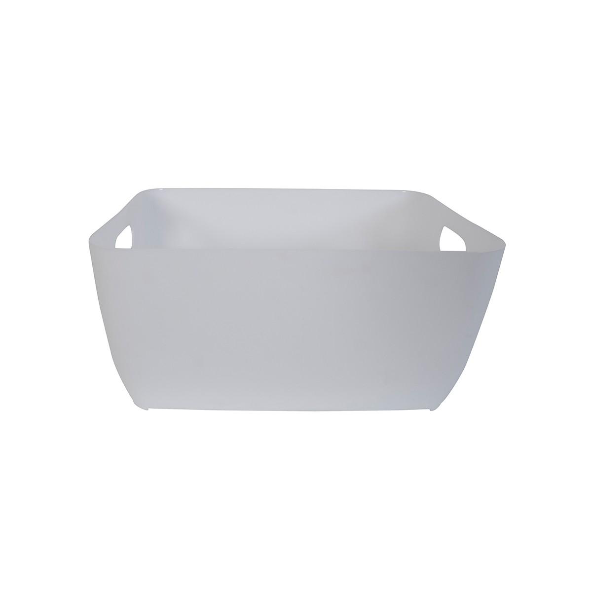 Κουτί Αποθήκευσης Spirella Store Box Medium 05042.003 White