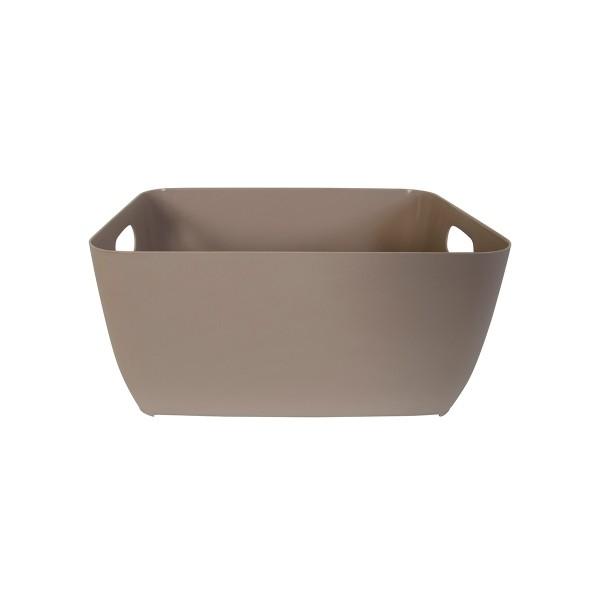 Κουτί Αποθήκευσης (28x21x13) LifeStyle Store Box 05042.002 Taupe