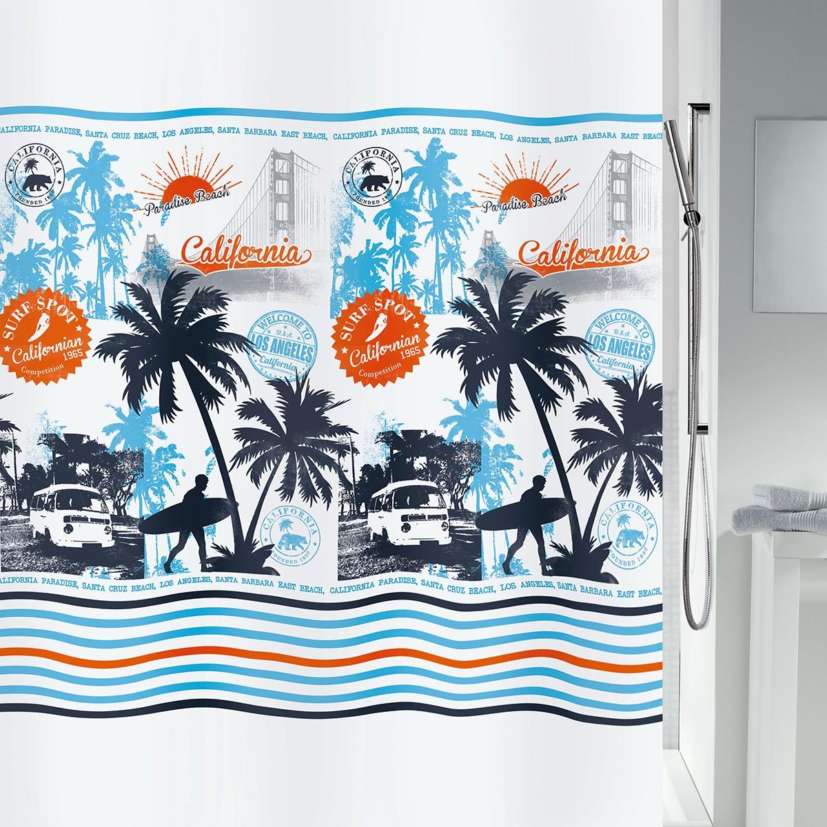 Κουρτίνα Μπάνιου (180×200) LifeStyle Calisurf