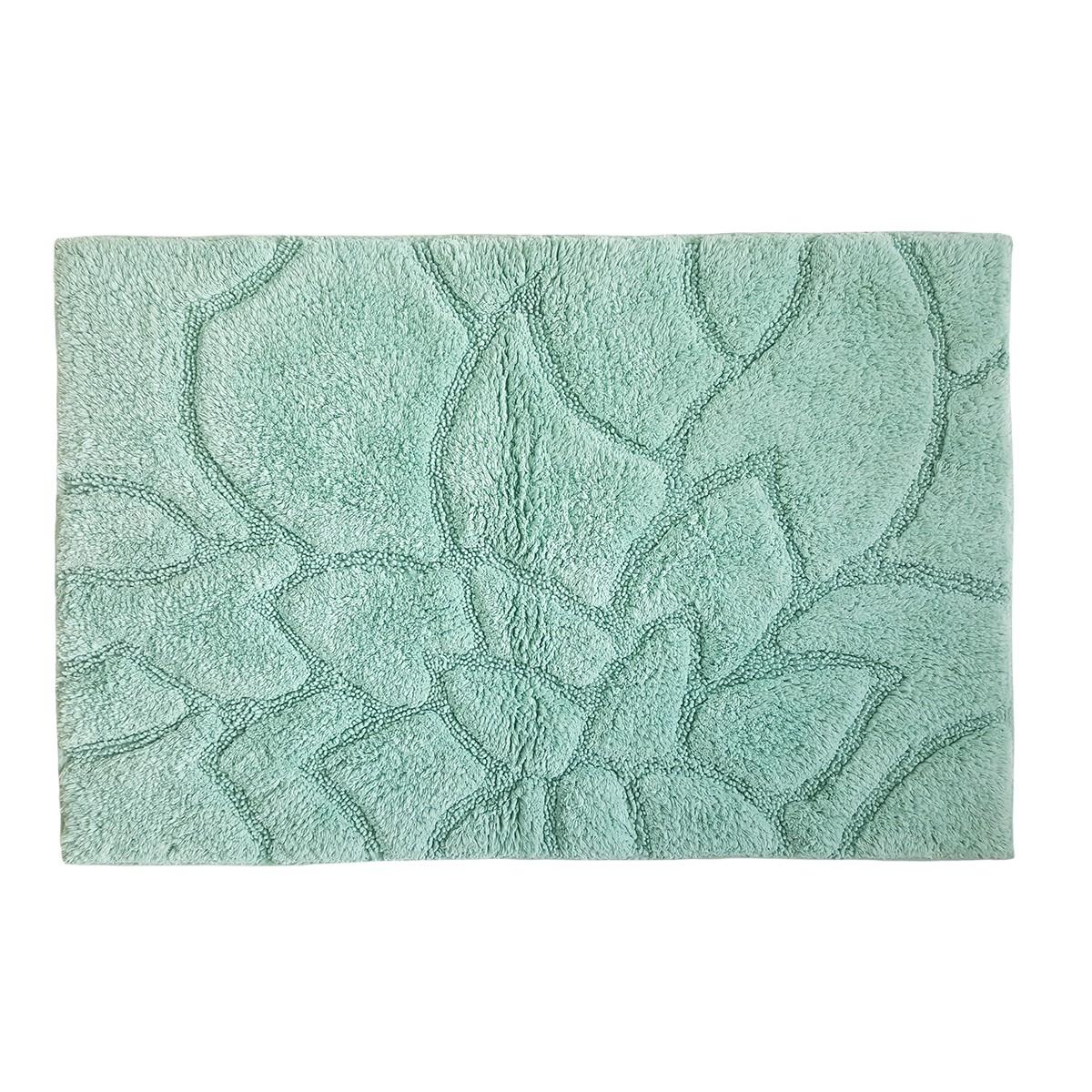 Πατάκι Μπάνιου (60x90) Rainbow Vergina Turquoise